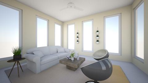 Contemporary Sunroom - Living room - by OliviaJW