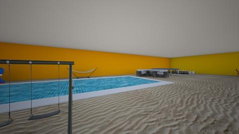 Pool and Playground Room - Eclectic - Kids room - by bluebunny13