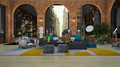 eclectic loft - by jade61356