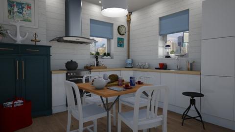 Nautical kitchen - Kitchen - by Tuija