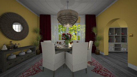 Small dining room - by Paper Flower