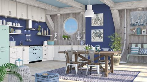 Nautical Kitchen - Kitchen - by LB1981