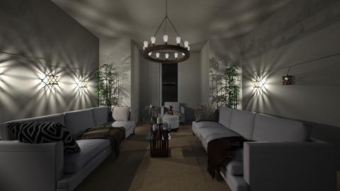 Classy Cabin - Classic - Living room - by MangaandCatManiac