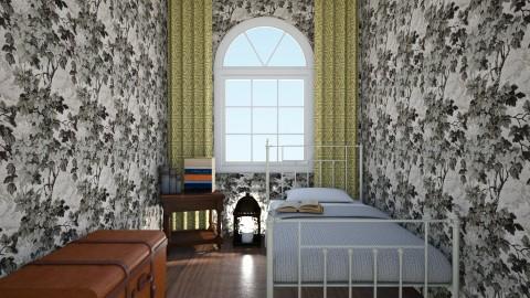 Bedroom  - Bedroom - by Becausecats11