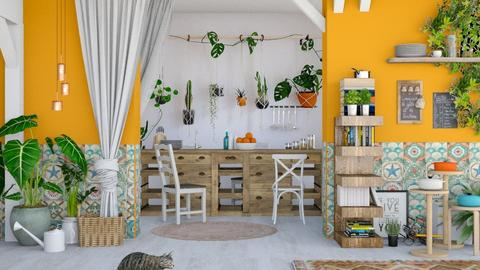 Bohemian - Kitchen - by ArtHousedeco