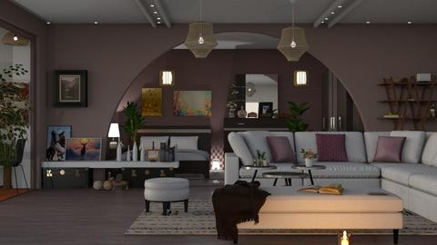 M_DLB - Living room - by milyca8