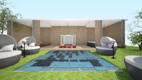 lounge - Garden - by pamela Cowan