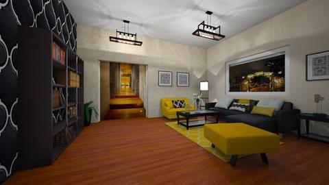 Living path - Living room - by antonieta123