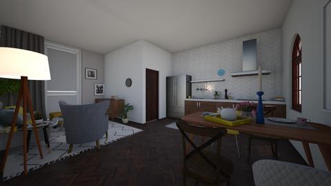 1 - Living room - by agatapietrzaak