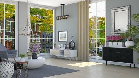 Teal - Living room - by ayudewi
