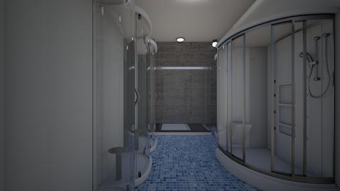 pool showers - Modern - Bathroom - by jade1111