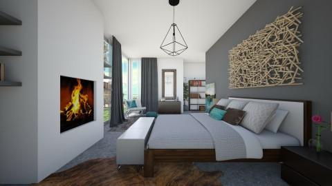 concrete - Bedroom - by Glendyx