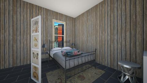 Newlyweds bedroom - Bedroom - by Cecily Reid