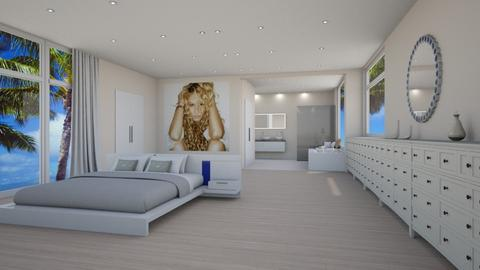 Paulina Susana Rubio - Modern - Bedroom - by Elenn