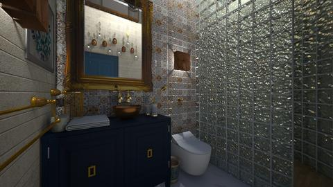 Cherrat Bath 1 - Bathroom - by Hanane Haidoune