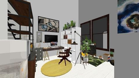 TO  Large Loft - Modern - by courtpyke
