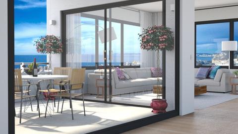 Mediterranean - Living room - by GraceKathryn