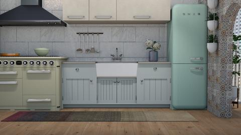 eclectic - Kitchen - by boho_dreamer