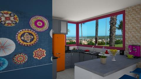 cozinha samira - Kitchen - by Vanusabarral