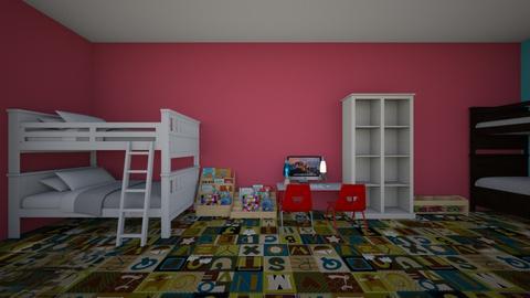 6  - Kids room - by Katerinebel