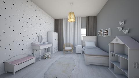 Girl room - Kids room - by DomiMat