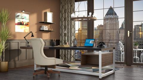 eclectic - Office - by anjaam
