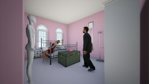 quarto em andamento  - Bedroom - by Rosiane 100