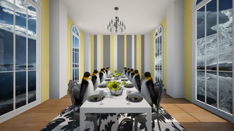 Penguin Party - by Brigid123