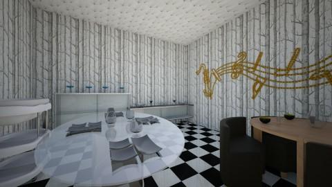 Agata Malinowska - Living room - by Agata Malinowska