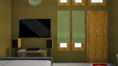 gold e pop 6 - Minimal - Bedroom - by herjantofarhan