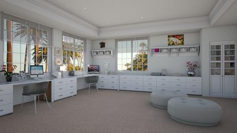 Sandra Bullock - Eclectic - Office - by Elenn