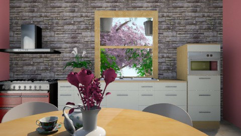 My liffe - Kitchen - by JeSou