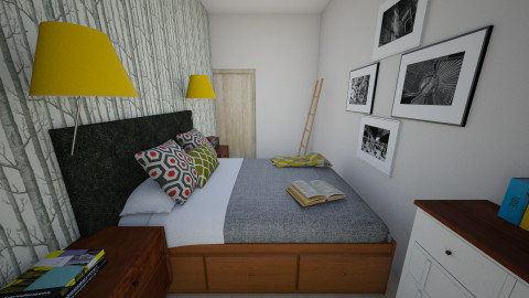 sypialnia2 - Bedroom - by AleksaM