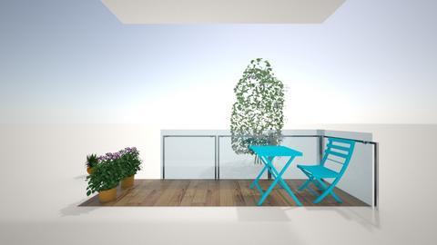 Balcony - Garden - by emilybakerrr