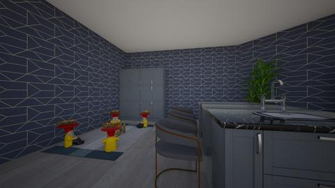 Deutsch Zwei Kueche  - Modern - Kitchen - by tcatte1419