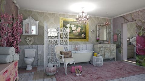 Shabby Chic Bath - Bathroom - by jjp513