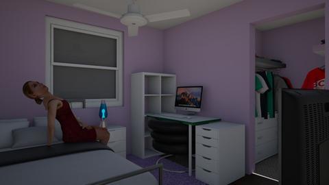 Moon Type - Minimal - Bedroom - by meera657