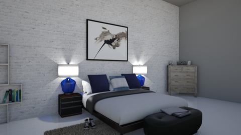 Bedroom - Rustic - Bedroom - by Mari07