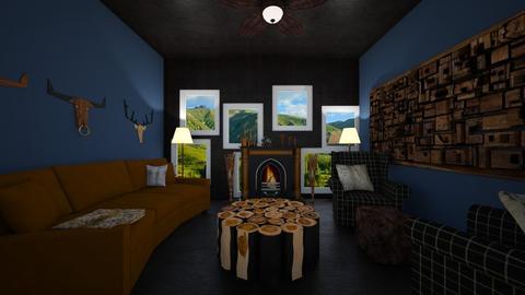 Mountain runaway - Rustic - Living room - by bleeding star