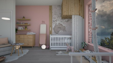 modern baby girl - by paradise look