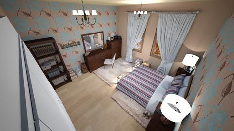 family home 159 - Vintage - Bedroom - by Stavroula Chatzina