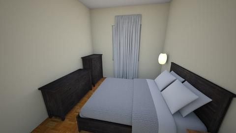 Bedroom Wood Queen Bed - Bedroom - by arifbmb