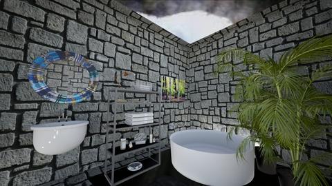 Jungle Bathroom - Modern - Bathroom - by bleeding star
