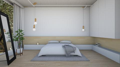 Wood and White - Modern - Bedroom - by Cheval2016