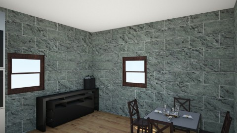 kitchen and dinning room - Classic - Kitchen - by fluffball1