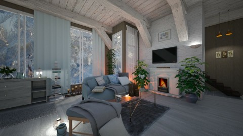 Dream Place - Classic - Living room - by Milapr