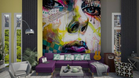 Graffiti - Modern - Living room - by dusica_k