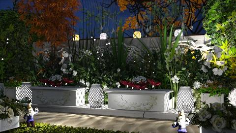 M_Nighttime Garden - Garden - by milyca8