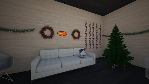 christmas room - Living room - by symia123