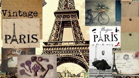 Vintage Paris - by Stephanie Kim